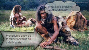 end the problem cavemen