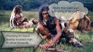end the problem cavemen
