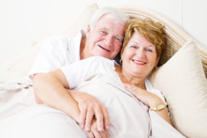older couple enjoying great sex