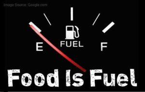 food is fuel ED