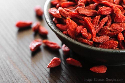 eat goji berries to enhance sperm count