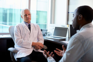 doctor consultation for male menopause